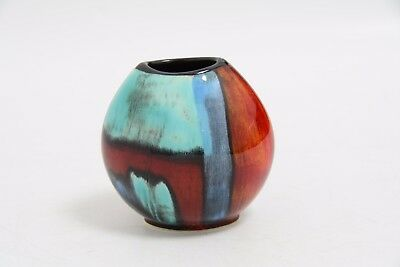 "Poole Pottery ""Gemstones"" Purse Vase (JMW3)"