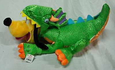 "Disney Store NICE PLUTO DOG IN DRAGON COSUTME 15"" Plush STUFFED ANIMAL Toy NEW"