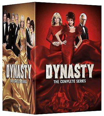 Dynasty the Complete Series new 57-disc box set DVD w/LE embossed slipbox cover