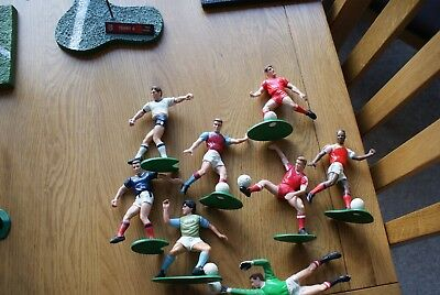 Tonka football figures unamed players / with age some discoloured lot1