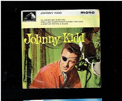 Johnny Kidd And The Pirates Ep Hmv 7Eg 8834 1963 Hungry For Love/rhythm N Blues