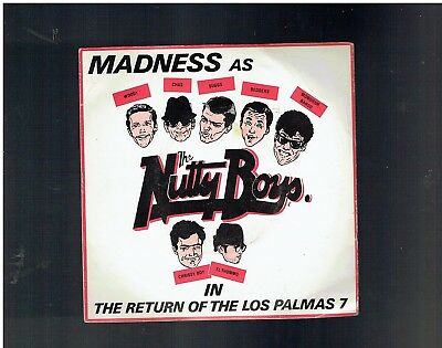 Madness Return Of The Los Palmas 7 Ps 45 1981