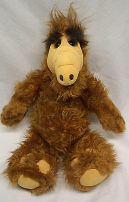 "Coleco 1986 VINTAGE ALF 18"" Plush STUFFED ANIMAL Toy"