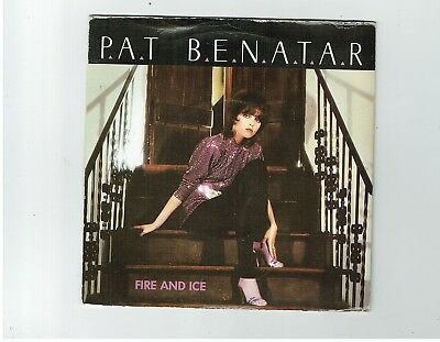 Pat Benatar Fire And Ice Ps 45 1983