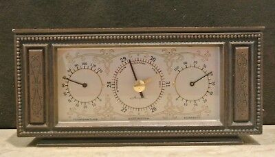 Vintage AirGuide Weather Station w/ Temperature, Humidity & Barometer