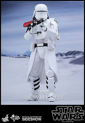 Hot Toys Star Wars The Force Awakens First Order Snowtrooper Officer 1/6 Figure