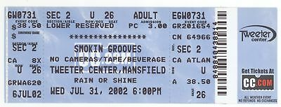 Rare OUTKAST THE ROOTS LAURYN HILL 7/31/02 Mansfield MA Concert Ticket!