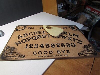 Vintage Ouija Mystic Board Game In Original Box