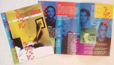 RARE Bush The Science of Things Promo Sales Brochure!