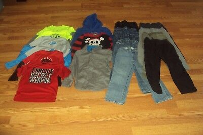 Boys Fall/ Winter Clothing Lot of 18 Size 5T