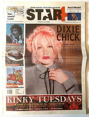 COOL Cyndi Lauper 2016 The Montrose Star Local Magazine!