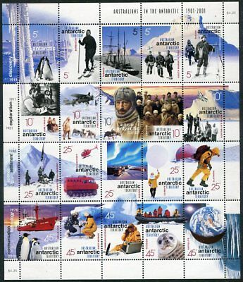 AUSTRALIAN ANTARCTIC L117 Beautiful Mint Never Hinged Sheet UPTOWN 31391