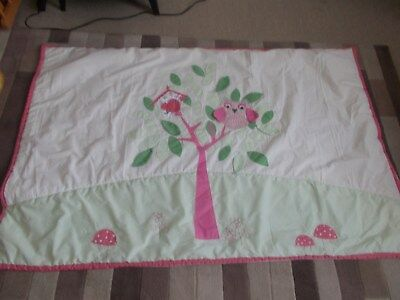 Next, Baby Girl's Cot / Cot Bed Quilt