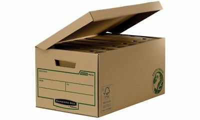 #10xFellowes BANKERS BOX EARTH Archiv-Klappdeckelbox Maxi