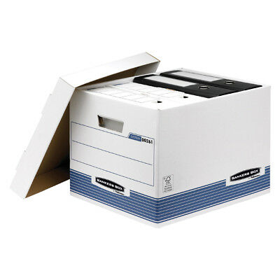 #10xFellowes BANKERS BOX SYSTEM Archiv-/Transportbox Standard