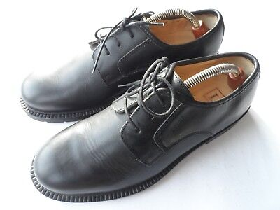 Loake Gentlemen's '501 B' Black Leather Derby Shoes Size 8.5 F Uk/42.5 Eu/9.5 Us