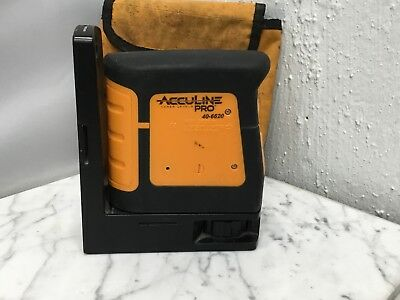 Johnson Acculine Pro Laser Level Model 40-6620 in Pouch