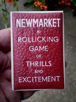 1950s Horse Racing Card Game - Newmarket