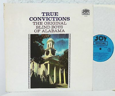 THE ORIGINAL BLIND BOYS OF ALABAMA -  True Convictions  JOY  LP