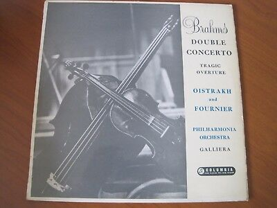 "BRAHMS DOUBLE CONCERTO  ""DAVID OISTRAKH and PIERRE FOURNIER""  SAX 2264  STEREO"