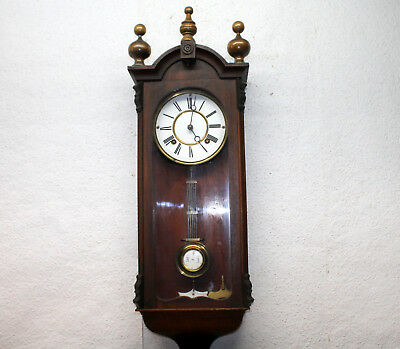 Old Wall Clock Chime Clock  Regulator