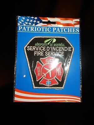 Montreal Airports, Canada Fire Dept. Patch