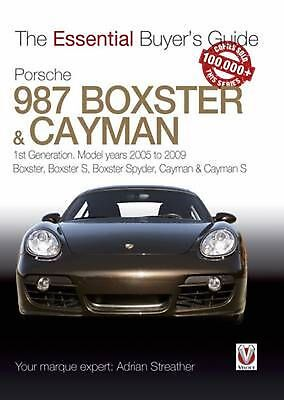Porsche 987 Boxster & Cayman: 1st Generation: Model Years 2005 to 2009 Boxster,