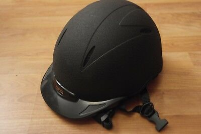Onyx Dublin Horse  Riding Helmet 54cm with silk cover excellent condition