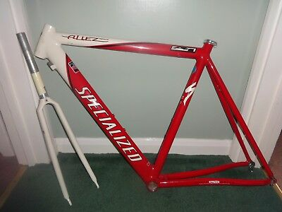 Specialized Allez Sport A1 Frame + Forks Frameset 54cm Red Rare Fair Fast Post