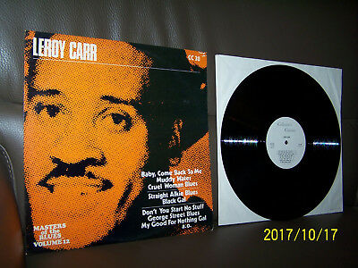 Leroy Carr LP same - Masters Of The Blues – Volume 12