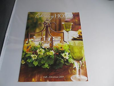 Celebrating Home Fall / Christmas Catalog Book 2009 NEW Condition w/FREE Ship