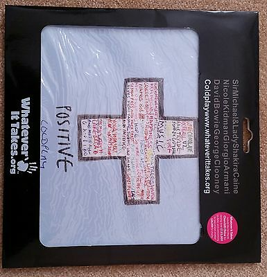 Coldplay Whatever It Takes Mouse Mat - Sealed - Rare