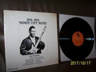 LP Windy City Blues The Transition 1935 To 1953