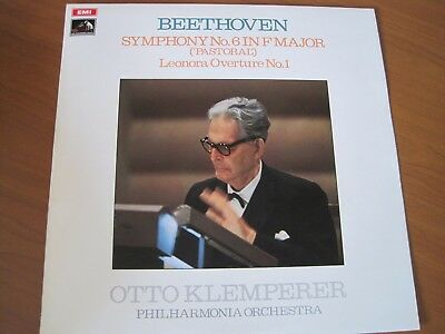"BEETHOVEN  ""SYMPHONY No. 6 IN F MAJOR""  KLEMPERER   ASD 2565  STEREO"