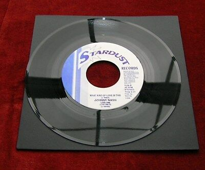 Johnny Nash What Kind Of Love Is This Stardust Double A/side Re-Issue