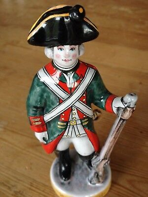 MADE IN RUSSIA Cermaic French soldier figure