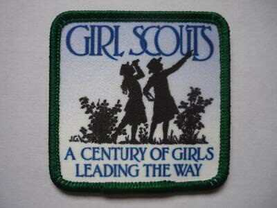 Girl Guides  Girl Scouts A Century of Girls Leading The Way Badge USA