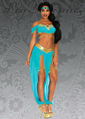 Ladies Leg Avenue Oasis Princess Jasmine Costume