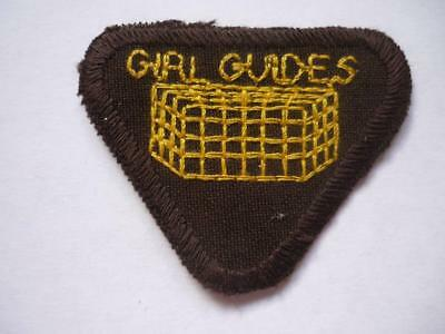 Vintage Girl Guides  Brownies  Safety in the Home Proficiency Badge   Unusual