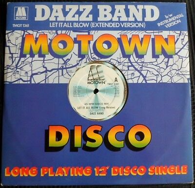 Dazz Band-Let It All Blow(Extended Mix)-1984-Mint-1St