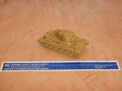 ORIGINAL 1960s MARX DESERT FOX PLAYSET U.S. ARMY TANK #41