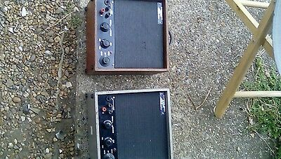 Vintage po loudspeaker amplifier x2. Intercoms.