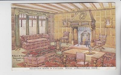 Gb Stamps Newcastle Pavillion Room Unused From Royal Show Collection