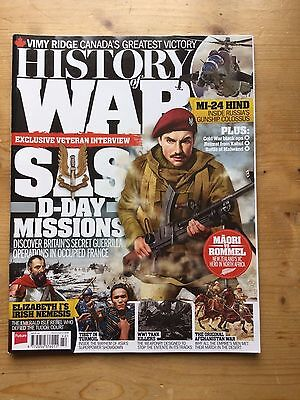 HISTORY of WAR MAGAZINE - ISSUE 42 - JUNE 2017 - MINT