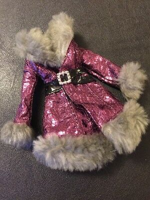 Bratz Doll Clothes Yasmin's Original Wintertime Collection Purple Jacket