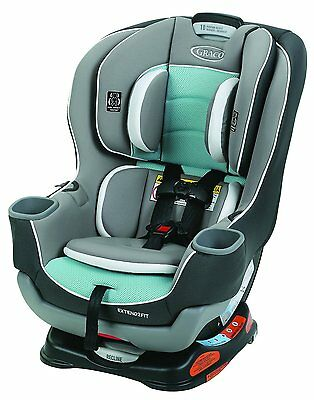 Graco Baby Extend2Fit Convertible Car Seat Infant Child Safety Spire NEW