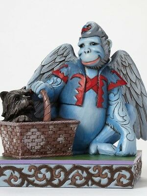 The Wizard of Oz by Jim Shore Winged Monkey with Toto Statue New