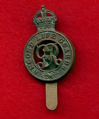 WW2 Great Britain Second Life Guards Cap Badge