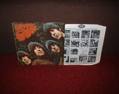 BEATLES Rubber Soul LP 1969 STEREO ONE BOX! MINT!! 6 MONTHS ONLY!!!!