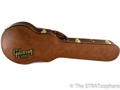 Gibson USA Les Paul Classic Plus MOLDED HARDSHELL CASE American Brown Tolex